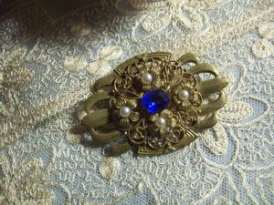 BELLE BROCHE ANCIENNE ART DECO